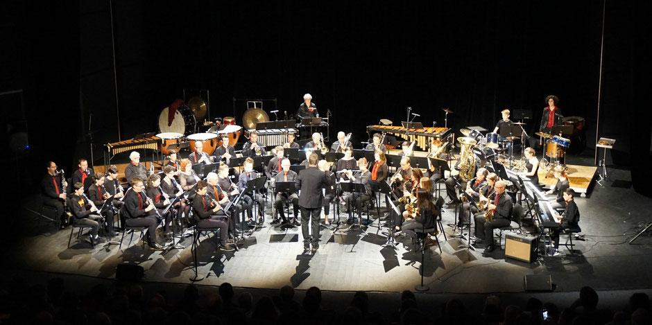 Harmonie de Crolles sous la direction de Florian Martinet