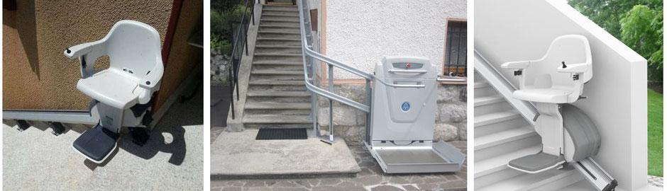 Außenlifte: Treppenlifte / Plattformlifte für den Außenbereich