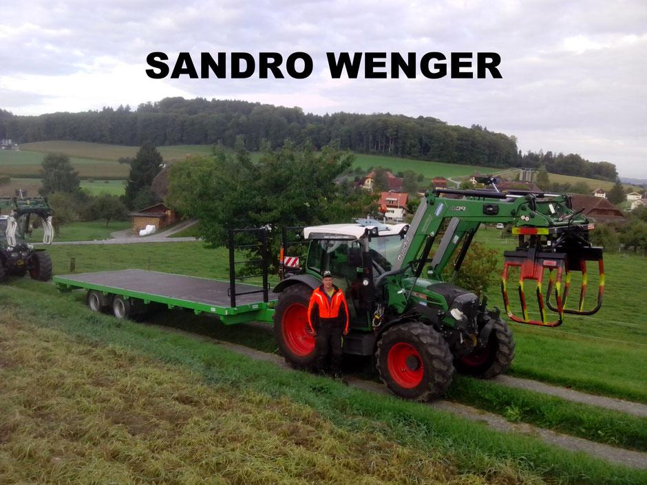 Aushilfsarbeiter Wenger Sandro