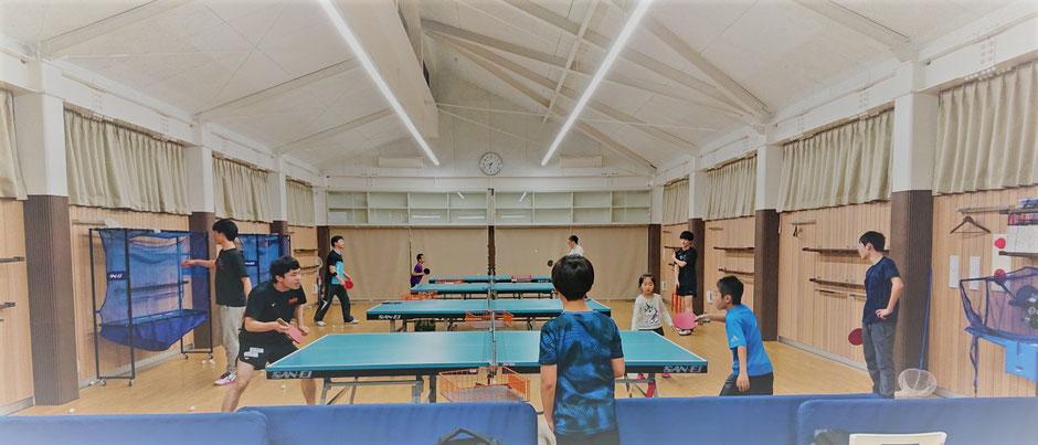 卓球 キッズ ジュニア 小学 中学 高校 大学 一般 大人 競技 試合 基礎 技術 戦術 強化 クラブチーム