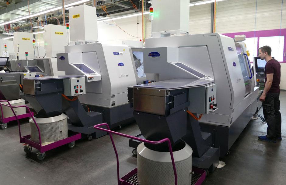 CNC Drehmaschinen bis 18 Achsen und Drehdurchlass bis 32 mm