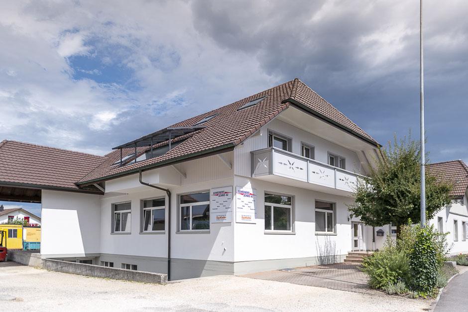 Unser moderner Schreinerei Betrieb - Schreinerei Schmid AG in Oberönz