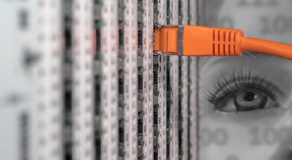Netzwerk, Verkabelung, Switch, WLAN, Datensicherung, Software, Hardware, Telefon