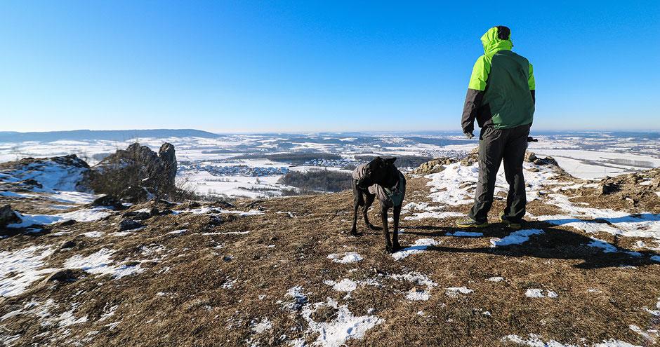 Wandern in Bayern, Wandern mit Hund, Urlaub mit Hund, Bergurlaub mit Hund, Wandern in Franken