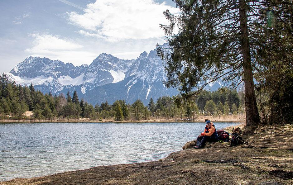 Luttensee und Karwendel