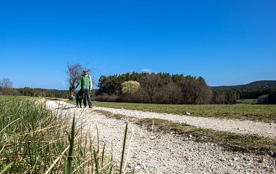 Der Geotopweg in der fränkische Schweiz, Wandern mit Hund, Urlaub mit Hund, Bergurlaub mit Hund, Wandern in Franken
