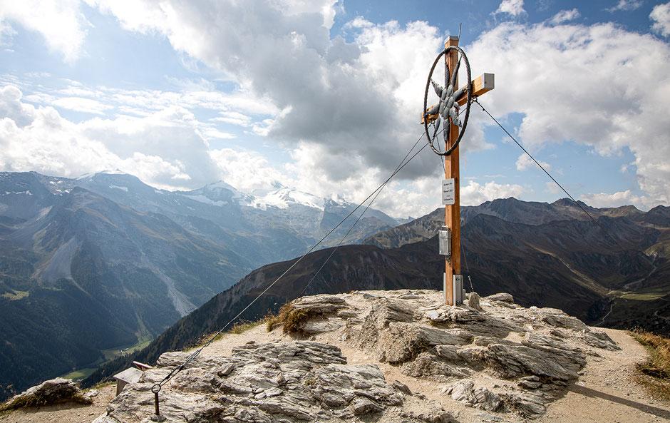 Wandern im Zillertal, Bergurlaub mit Hund, Hintertux, Wandern in Österreich, Wandern in Tirol, Wanderung Grüblspitze