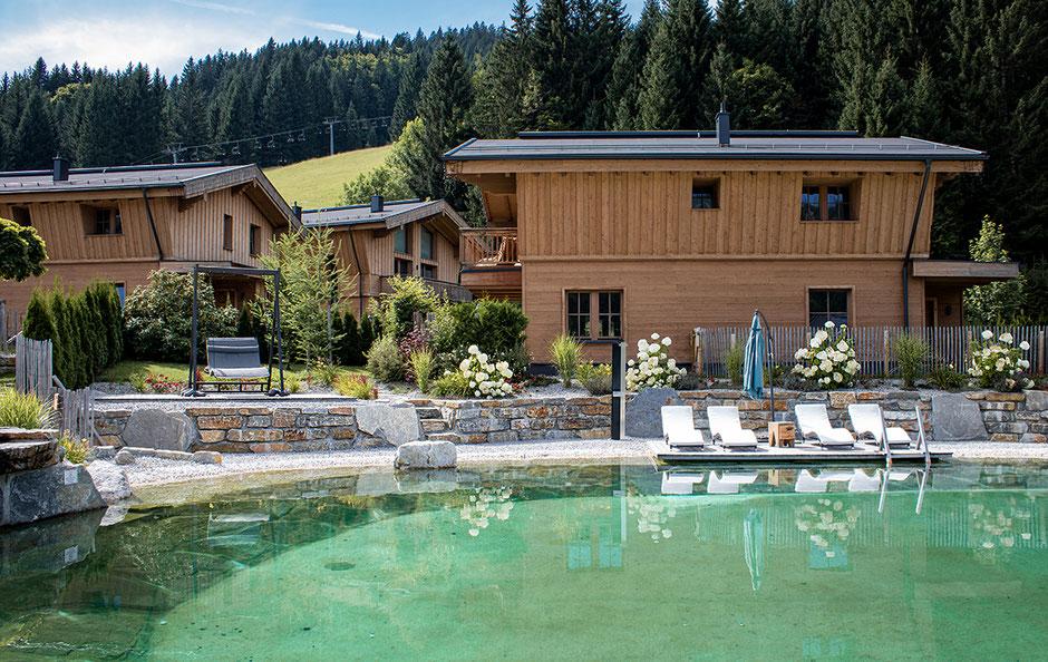 Luxuschalets Tirol LA SOA Tannheimer Tal Bergurlaub mit Hund Urlaub mit Hund Urlaub in Österreich Urlaub in Tirol
