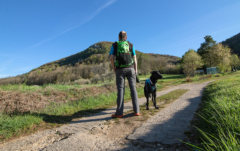 Wandern in Franken, Wandern Houbirg, Stausee Happurg
