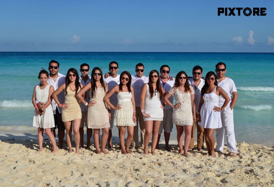 Fotografo Grupos em Cancun