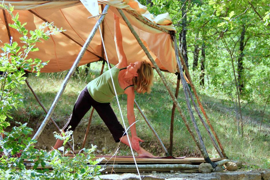 Sophie Geulin Yoga Lehrerin im Yoga und Retreat Zentrum Südfrankreich, Limoux und Carcassonne