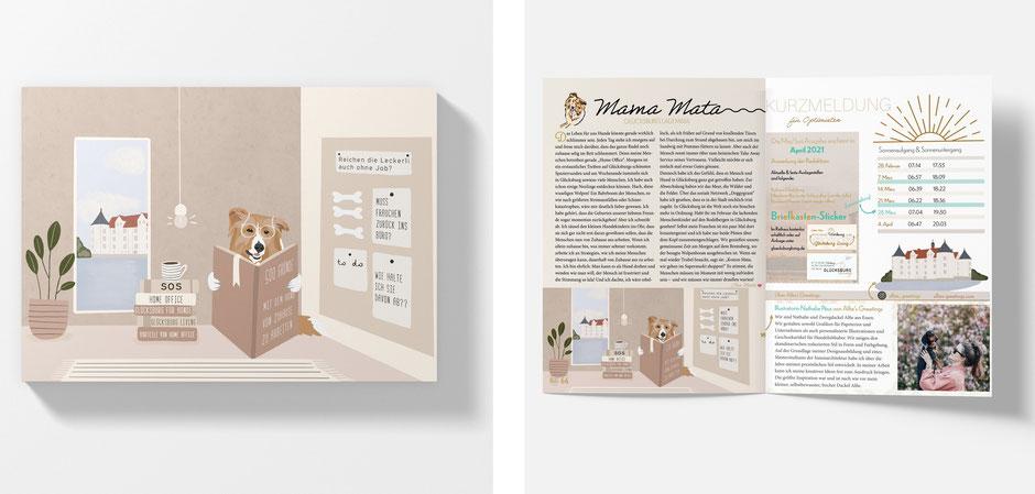 ILLUSTRATION for Glücksburg Living Magazin