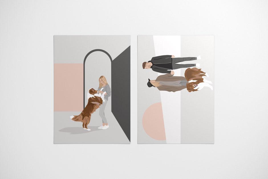 VOUCHER DESIGN for dogandliving, augsburg