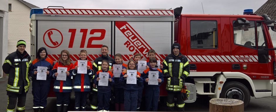 Jugendflammen Abnahme in Eiershausen 2016