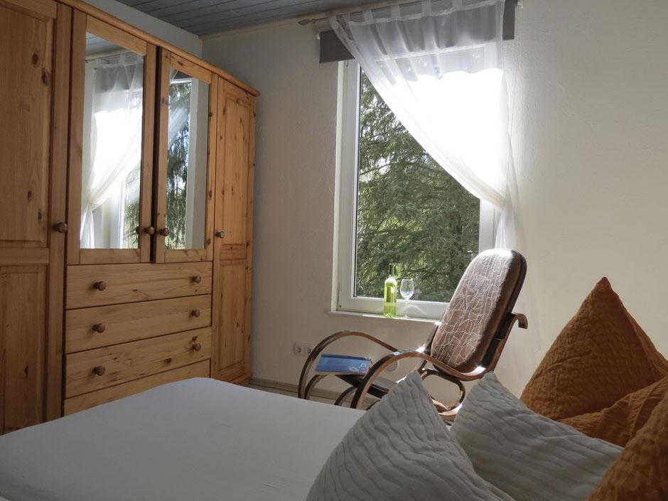 Ferienhaus, drei Schlafzimmer, Schaukelstuhl