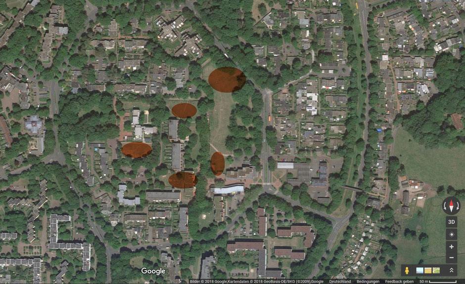 Luftbild Barkenberg- Dimker Allee