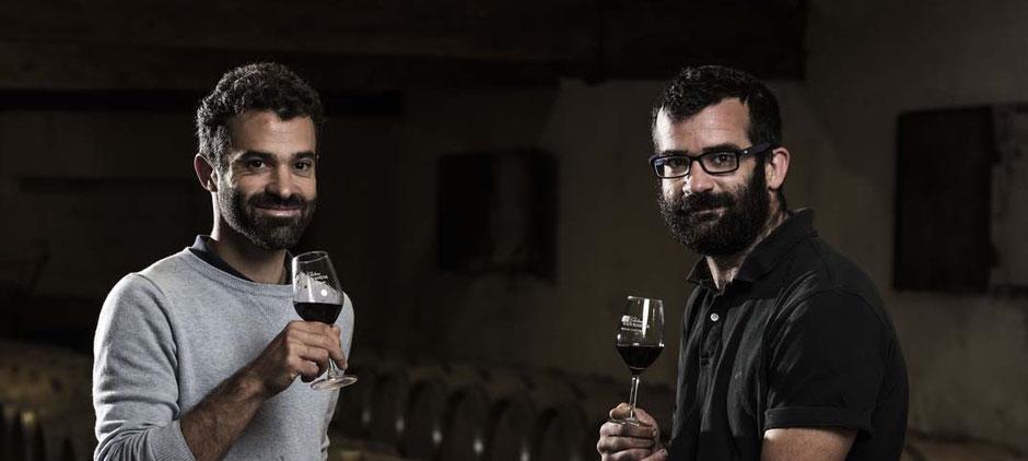 Rémi et Clément Laporte, vigneron du Château Croix Beauséjour à Montagne Saint Emilion