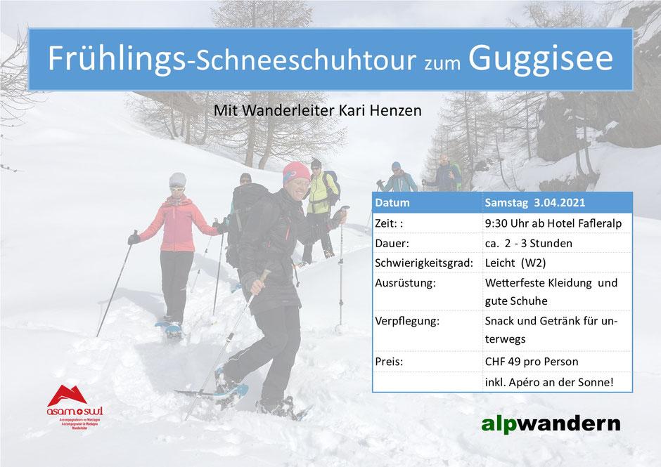Oster-Schneeschuhtour