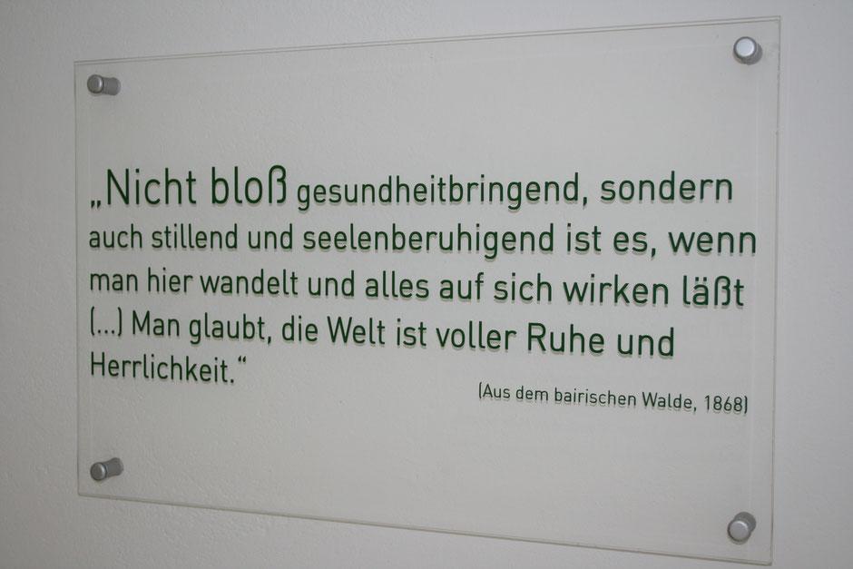 nachzulesen und vieles mehr im Adalbert Stifter Museum in Schwarzenberg