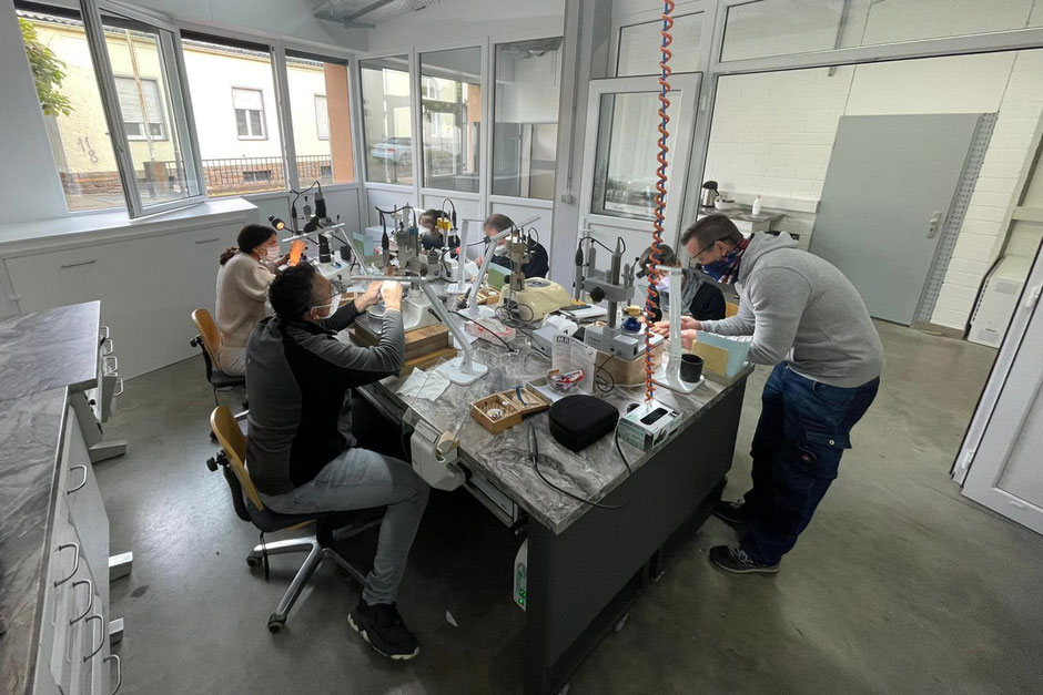 Zahntechnik Wieck: Workshop zur digitale Herstellung von Teleskopen in Remagen