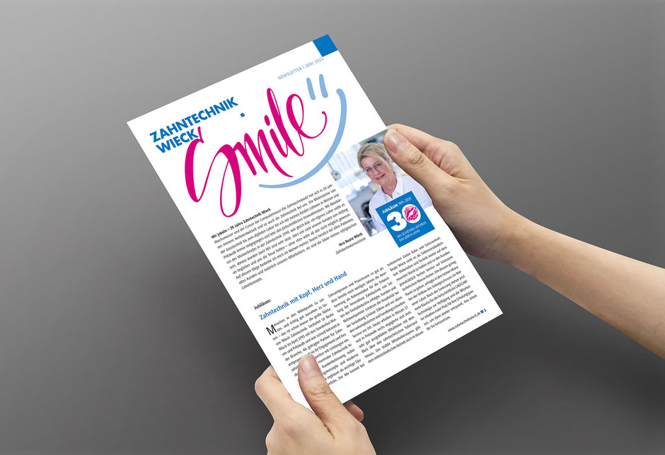 SMILE-Newsletter der Zahntechnik Wieck, © Shutterstock
