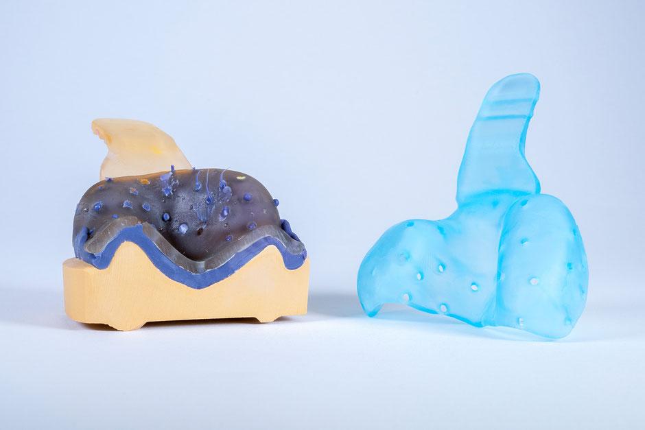 © Zahntechnik Wieck: Individuelle Abformlöffel in 3D-Druckverfahren