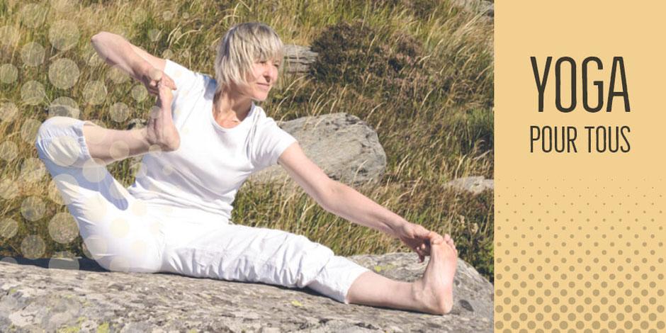 Yoga - cours privés et collectifs - Déplacement au travail et à domicile