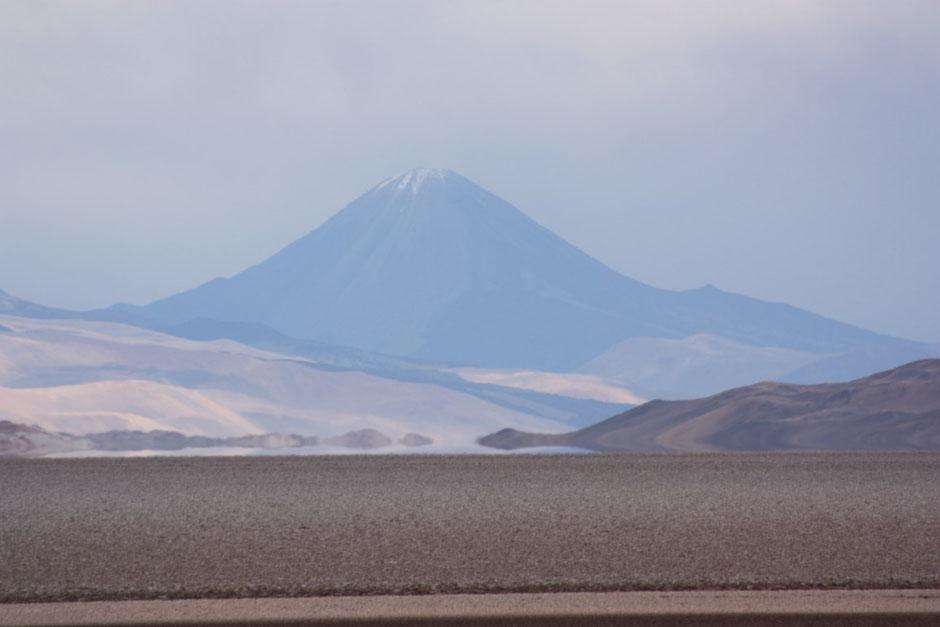 El volcán Peinado más cerca!