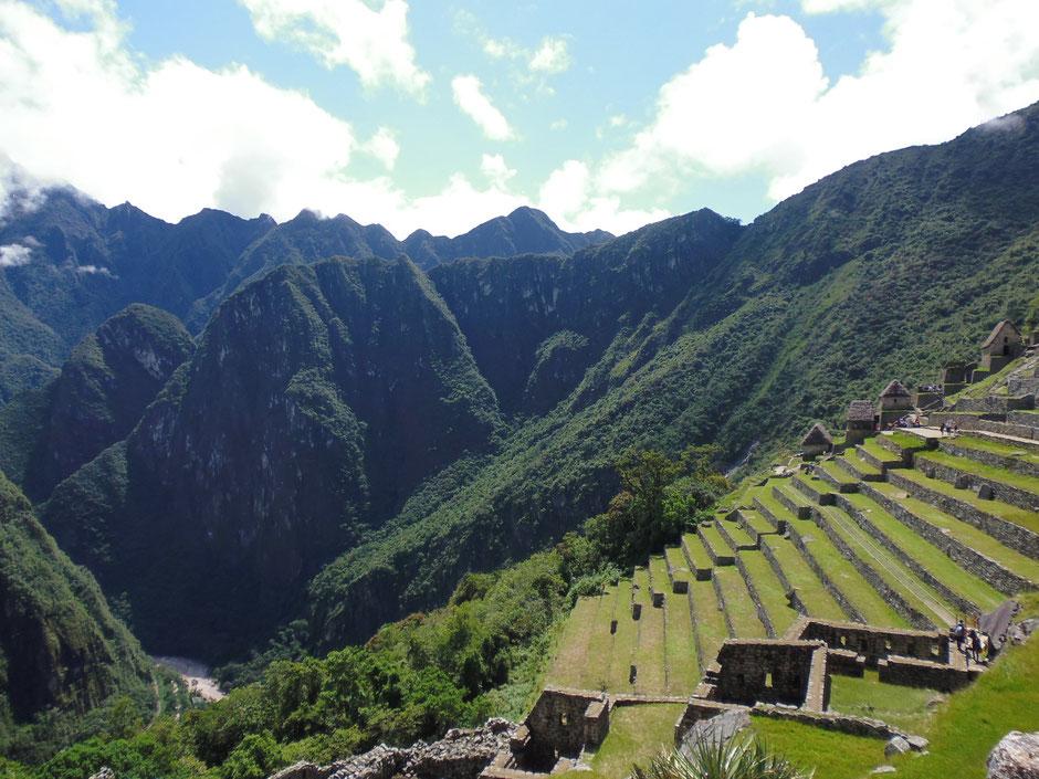terrazas Incas, preservando la erosion de la montaña