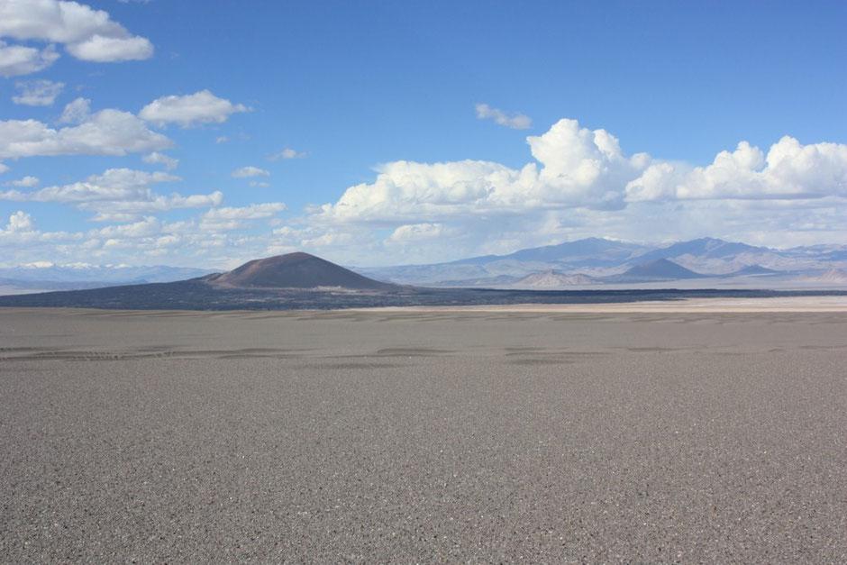 Salimos hacia el volcán Carachi Pampa