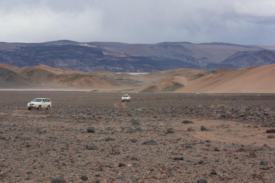 Parte de la caravana.