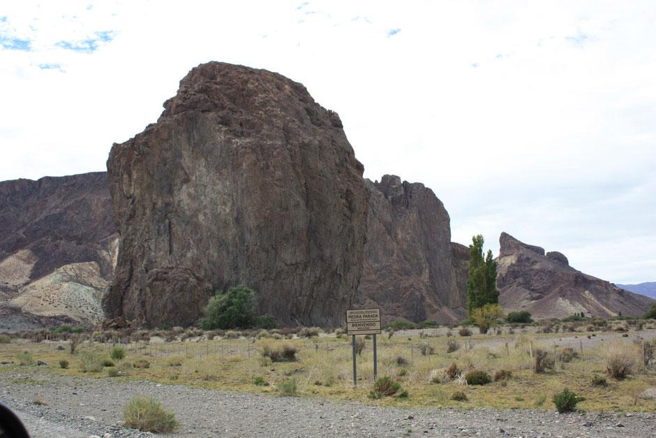 Llegamos al volcán Piedra Parada