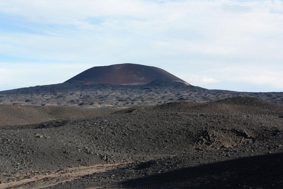 Nos alejamos del volcán Carachi