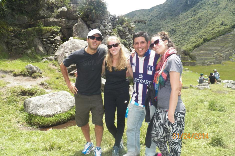 Franco, Noe, Javier, Mery