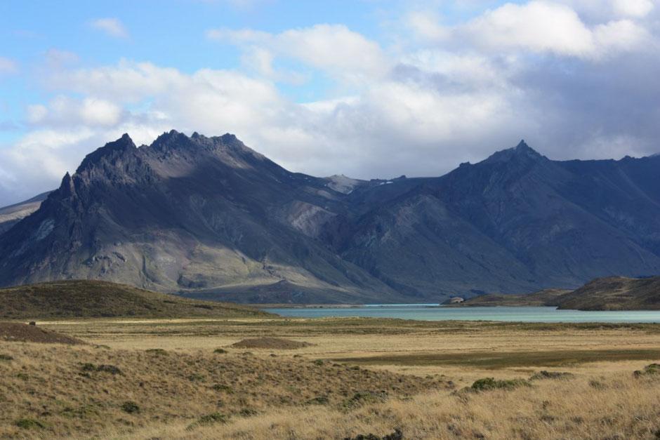 Desde este lugar ya se veía el lago Belgrano