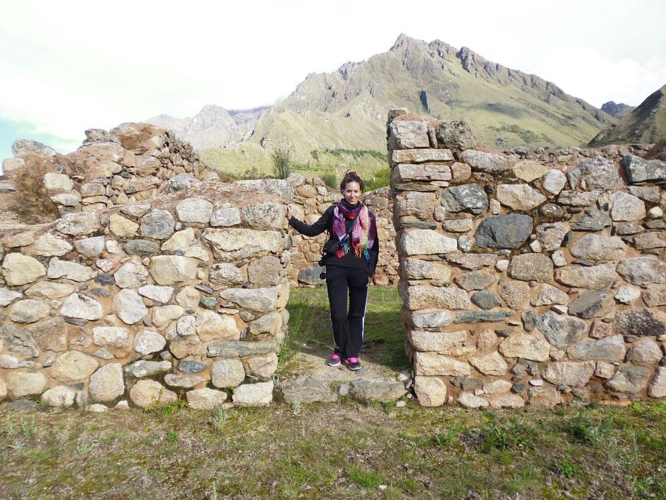 Arquitectura inca. Conservada en su estructura original.