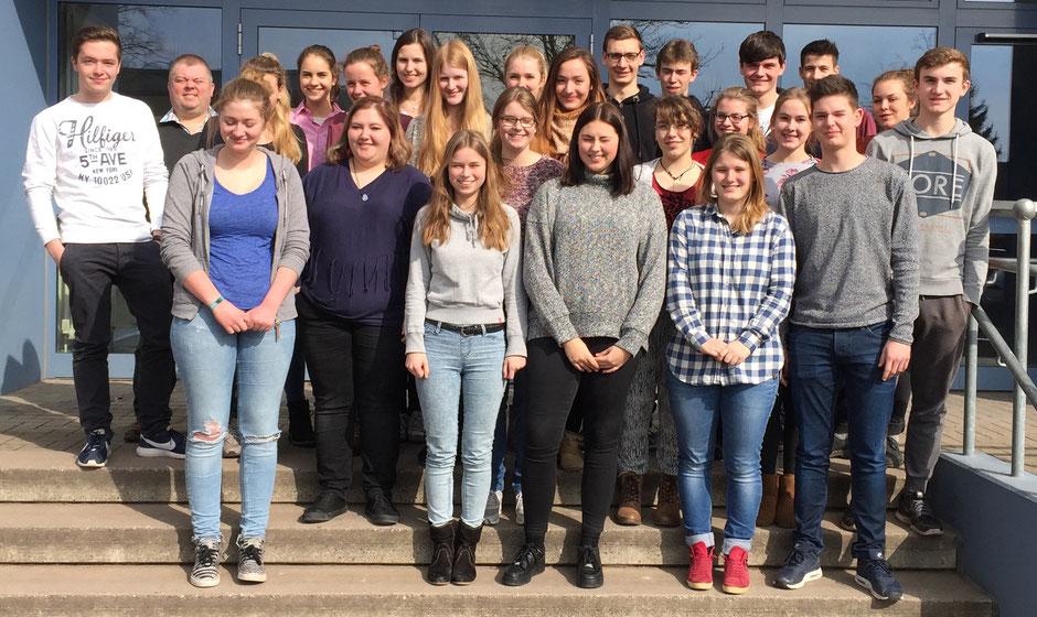 Teilnehmer der Cambridge-Kurse