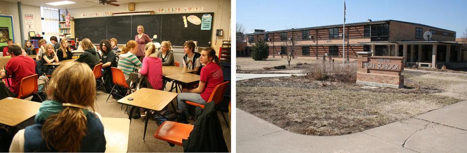 Impressionen von der Abilene Highschool