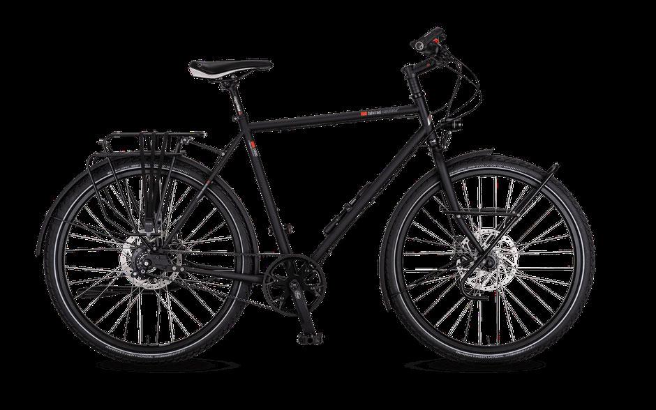 VSF-Fahrradmanufatur TX-1200 Gates Pinion P1 18-Gang Reiseräder Expeditionsräder Reiseräder; München bei velo am ostbahnhof; haidhausen