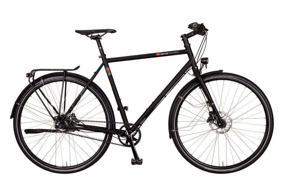 VSF-Fahrradmanufaktur T-700 SHIMANO ALFINE 11-GANG; velo am ostbahnhof ; München; haihausen