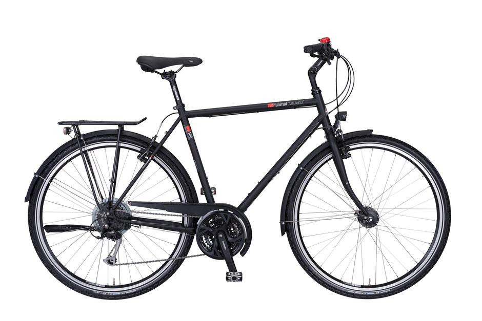 VSF-Fahrradmanufaktur T-100 SHIMANO ALIVIO 27-GANG V Brake Trekkingrad bei velo am ostbahnhof in muenchen