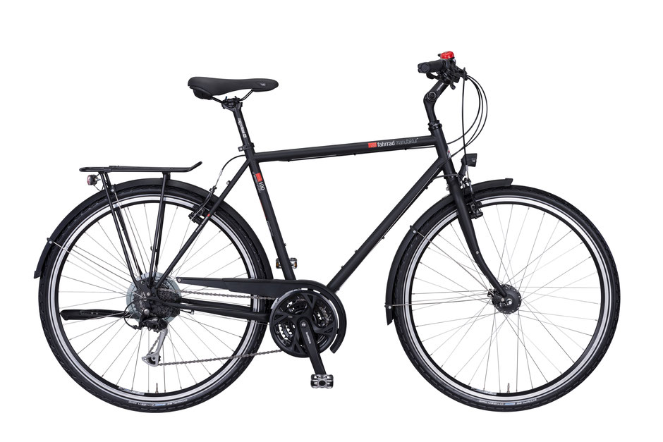 VSF-Fahrradmanufaktur T-100 SHIMANO ALIVIO 27-GANG / V-BRAKE Trekkingrad bei velo am ostbahnhof in muenchen