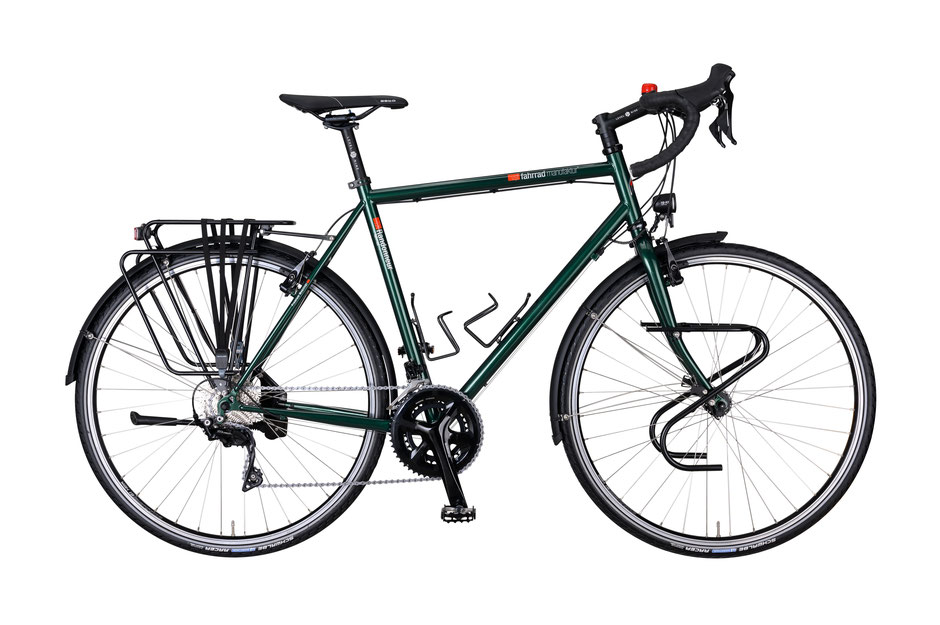 VSF-Fahrradmanufaktur TX-Randonneur Shimano 105 30-Gang Reiserad Expeditionsrad € 1.599,90; velo am ostbahnhof; münchen