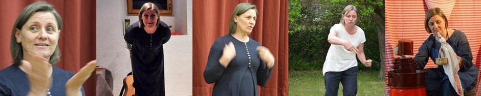 Maria Dürrhammer, Märchenerzählerin, Puppenspielerin