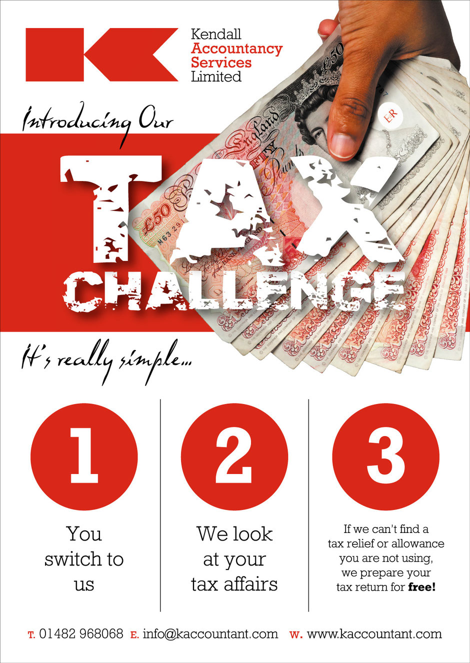 Kendall's Tax Challenge