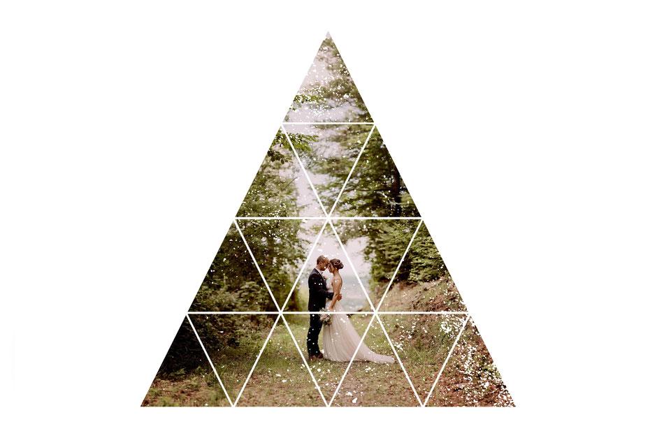 Hochzeitideen, give away, Schön, dass Du da bist! Hochzeitsfoto in schwarz/weiss