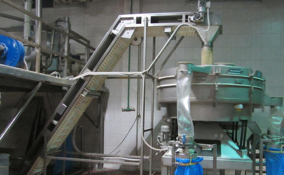 Поставки сушильных линий от 700 кг/час  с сортировкой и упаковкой сушеных продуктов