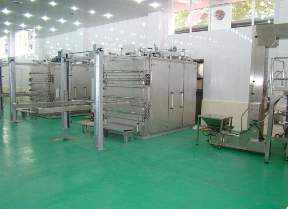 Поставляем сушильную установку THT 300 компании Hans Binder для сушки яблок, овощей