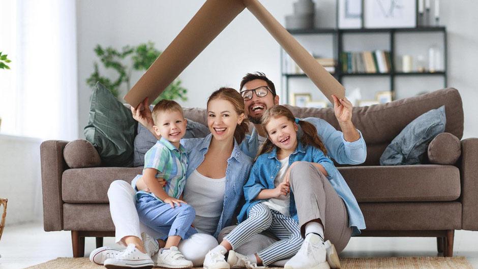 construir una familia feliz y convivir sanamente