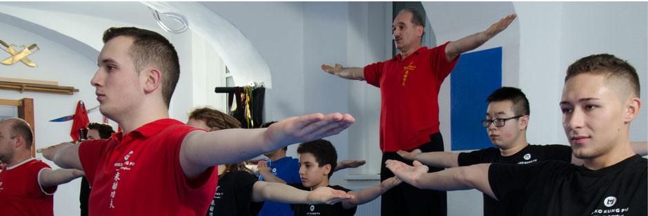 Miko Kung Fu Sankt Pölten, cool down
